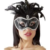 LUX FETISH Peek-a-boo Love Mask leo