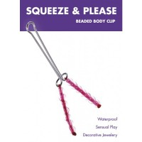 JOYA CLÍTORIS SQUEEZE N PLEASE BEADED