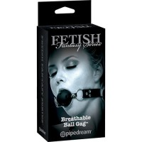 LUX FETISH Breathable Ball Gag black