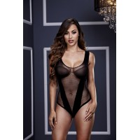 BACI BODY DE RED NEGRO CON ESCOTE