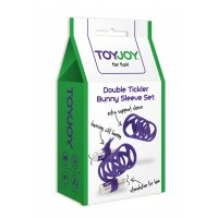 SET FUNDAS DOUBLE TICKLER VIOLETA