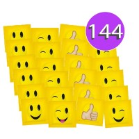 PASANTE SMILEY REGULAR 144 PRESERVATIVOS EN BOLSA
