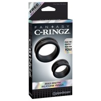 FANTASY C-RINGZ SET 2 ANILLOS MAX-WIDTH SILICONE RINGS