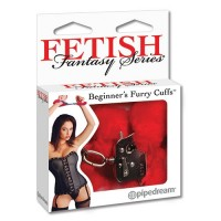 FETISH FANTASY SERIES ESPOSAS BEGINNER'S FURRY CUFFS ROJA