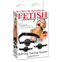 FETISH FANTASY SERIES MORDAZAS BALL GAG TRAINING SYSTEM