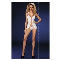 LIV CORSETTI WILLIE PICARDÍAS BLANCO L/XL