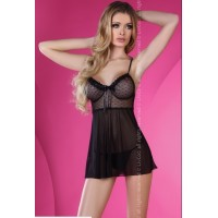 LIV CORSETTI ADALGISA PICARDÍAS L/XL NEGRO LOVELY COLLECTION