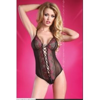 LIV CORSETTI RAIZEL S/M BODY NEGRO ROSE COLLECTION
