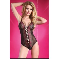 LIV CORSETTI RAIZEL L/XL BODY NEGRO ROSE COLLECTION