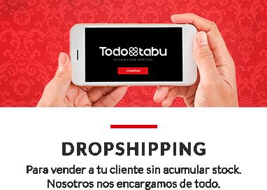 Dropshipping. Para vender a tu cliente sin acumular stock. Nosotros nos encargamos de todo.